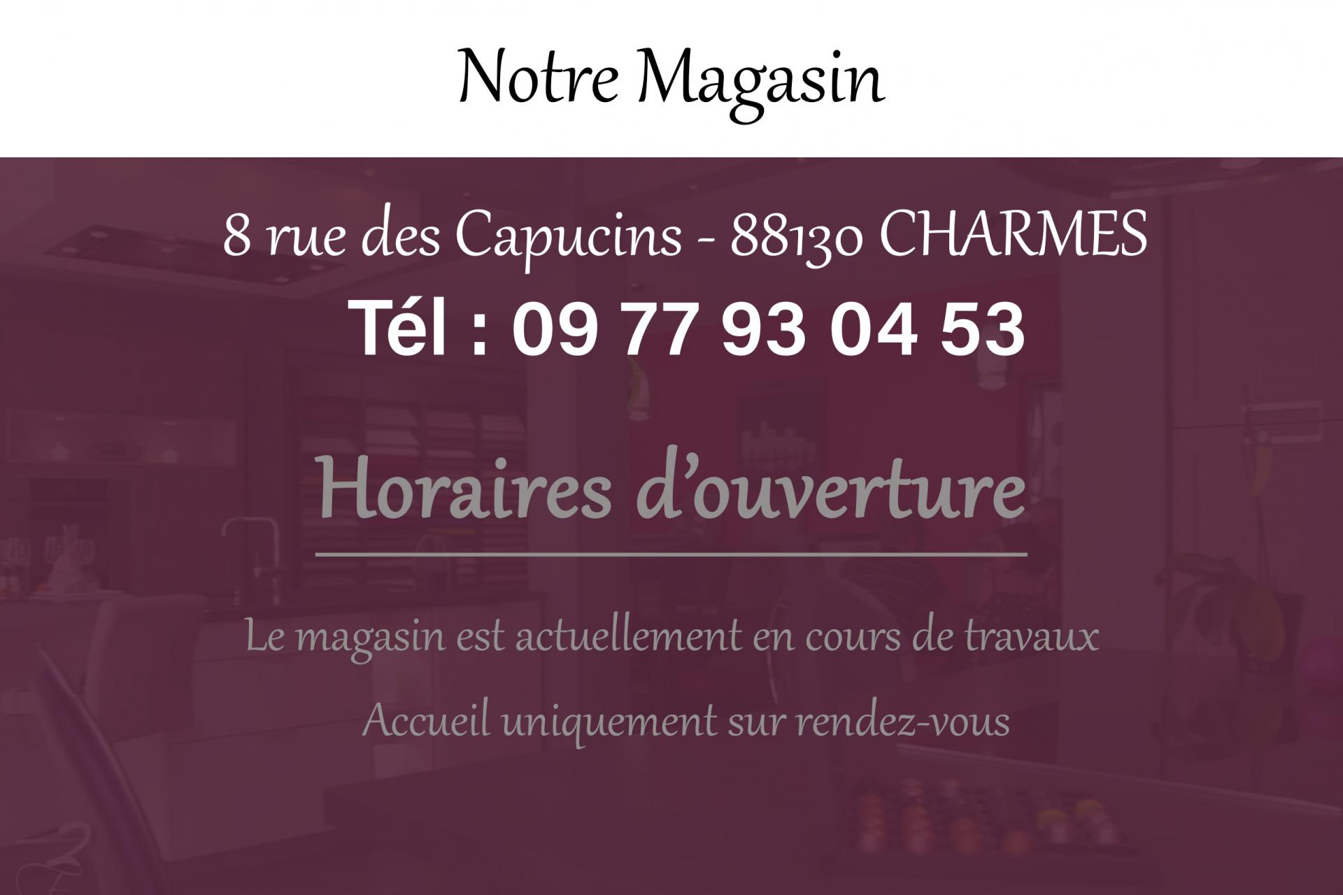 Coordonnees magasin 1
