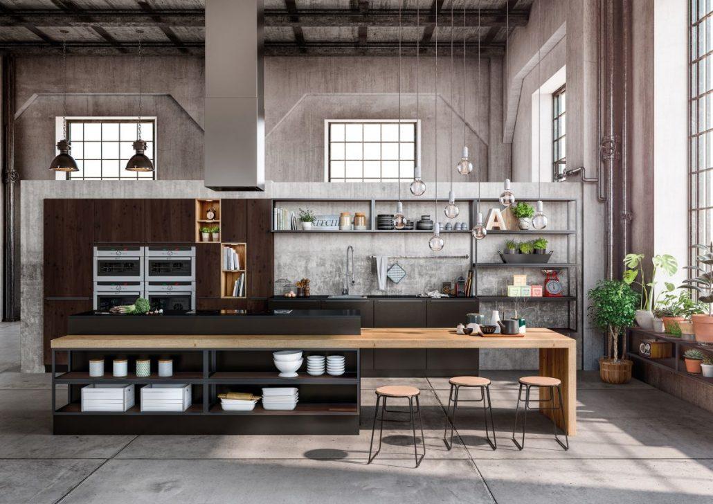 Cuisine sagne modele lounge